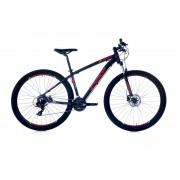 Bicicleta Mtb Oggi Aro 29 Hds Preto Vermelho e Amarelo