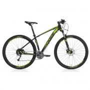 Bicicleta MTB Oggi Big Wheel 7.1 29 Preto/Verde 17 Acera 27v