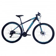Bicicleta MTB Oggi Hacker Hds 29 Pto/Az 15,5 Tourney TX 24v