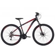 Bicicleta MTB Oggi Ox Glide 29 Preto e Vermelho 17 21v
