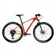 Bicicleta Oggi 29 Big Wheel 7.3 SX 12V Vermelho e Amarelo