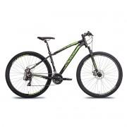 Bicicleta Oggi 29 Hacker Sport 2020 Preto e Verde