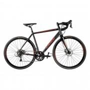 Bicicleta Oggi Aro 700 Velloce Disc Preto e Vermelho