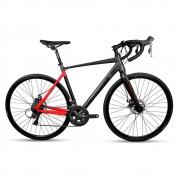 Bicicleta Speed Road 700 RedStone Python Shimano 16v Pto Ver