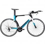 Bicicleta Triathlon Giant Trinity Advanced Azul e Preto