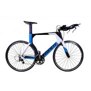 Bicicleta Triathlon Giant Trinity Advanced Azul Shimano 105