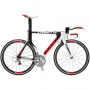 Bicicleta Triathlon Giant Trinity Advanced SL 2 Branco e Vm