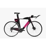 Bicicleta Triathlon Quintana Roo PRFour Disc 105 Neon Pink