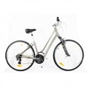 Bicicleta Urbana Retrô Giant Cypress Dx W Marrom e Cinza 18