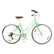 Bicicleta Urbana Retrô Giant Via 2 Verde Piscina Small