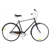 Bicicleta Urbana Retrô Giant Via 3 Preto Fosco L