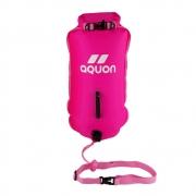 Boia de Sinalização Aquon Dry Bag Aguas Abertas Pink 28l