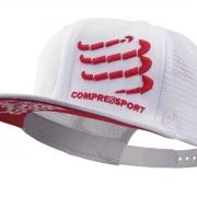Boné Compressport Trucker Branco