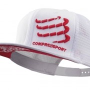 Boné Compressport Trucker Branco