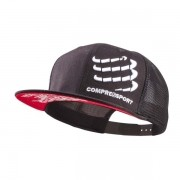 Boné Compressport Trucker Preto
