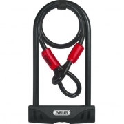 Cadeado para Bike Abus 32/150 Chave + Ush Facilo 32 + Cobra
