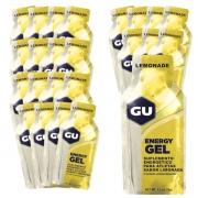 Caixa Gel Carboidrato Gu Energy Sabor Limão 24un