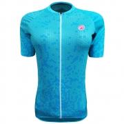 Camisa Ciclismo Barbedo Feminina Danubio Raglan Turquesa