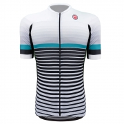 Camisa Ciclismo Barbedo Masculina Roncador Vanguard Branca