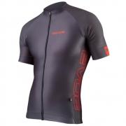 Camisa Ciclismo Evoe Masculina Evolution Grigio Bolso Zíper