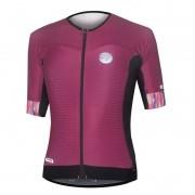 Camisa Ciclismo Feminina Mauro Ribeiro Premium Bordô