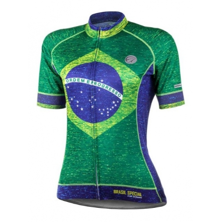 Camisa Ciclismo Mauro Ribeiro Brasil Special Feminina