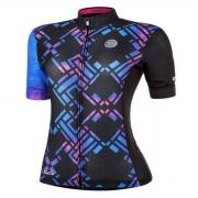 Camisa Ciclismo Mauro Ribeiro Feminina Draw Azul
