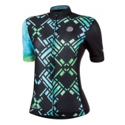 Camisa Ciclismo Mauro Ribeiro Feminina Draw Verde