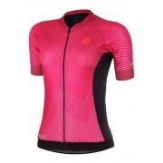 Camisa ciclismo Mauro Ribeiro Feminina Flare Rosa