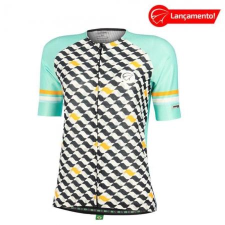 Camisa Ciclismo Mauro Ribeiro Feminina Flow Verde