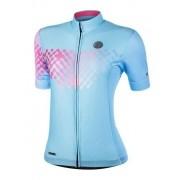 Camisa Ciclismo Mauro Ribeiro Feminina Link Azul