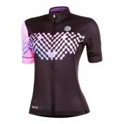 Camisa Ciclismo Mauro Ribeiro Feminina Link Preto