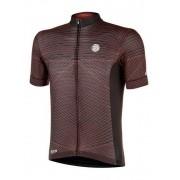 Camisa ciclismo Mauro Ribeiro Masculina Range Vermelho