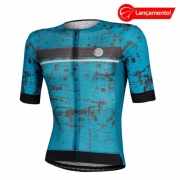 Camisa Ciclismo Mauro Ribeiro Masculina Union Azul