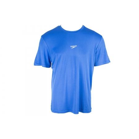 Camiseta Básica Corrida Speedo Interlock UV50 Azul
