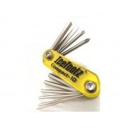 Canivete Kit Ferramentas IceToolz Compact-10 Funções 94A5