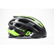 Capacete Bike Casco Com Óculos High One Preto e Verde