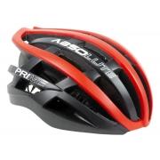 Capacete Ciclismo Absolute Prime Preto e Vermelho