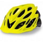 Capacete Ciclismo Absolute Wild Com Led Amarelo e Preto