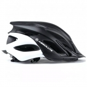 Capacete Ciclismo Absolute Wild Com Led Preto e Branco