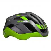 Capacete Ciclismo Bike High One Pro Space Cinza e Verde