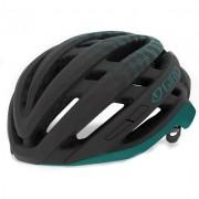 Capacete Ciclismo Giro Agilis Preto e Verde Tam. M 55-59