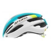 Capacete Ciclismo Giro Foray Branco e Azul