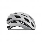 Capacete Ciclismo Giro Helios Spherical Branco e Prata