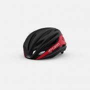 Capacete Ciclismo Giro Sintax Mips Preto e Vermelho
