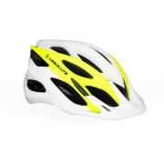 Capacete Ciclismo MTB Absolute Wild Branco Amarelo Neon