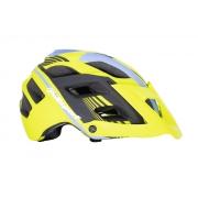 Capacete Ciclismo Polisport Mtb e Speed E3 Amarelo e Azul