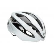 Capacete Ciclismo Spiuk Eleo Branco Prata