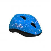 Capacete Infantil Para Bicicleta Triz Kids Azul