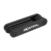 Chave Multiuso Para Ciclismo Rontek Tipo Canivete 7 Funções